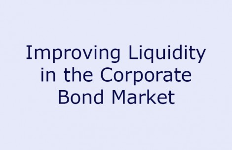 Improving Liquidity in the Corporate Bond Market