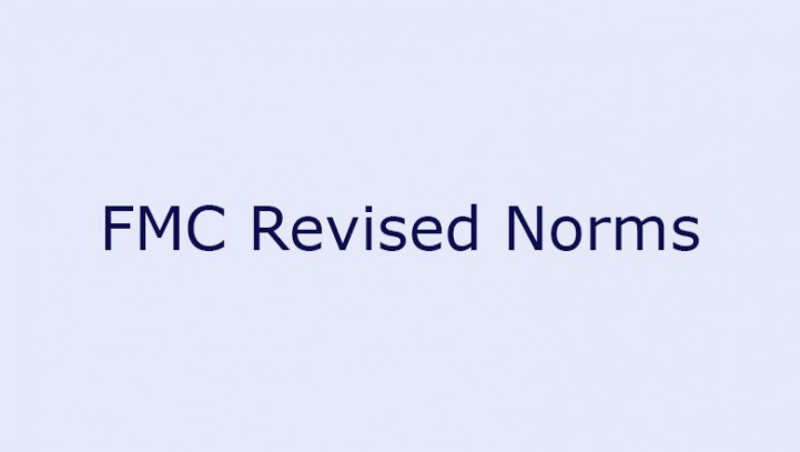 FMC Revised Norms
