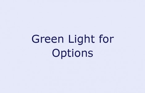 Green Light for Options