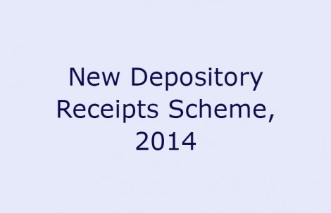 New Depository Receipts Scheme, 2014