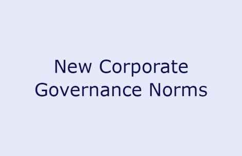 New Corporate Governance Norms