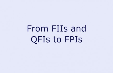 From FIIs and QFIs to FPIs
