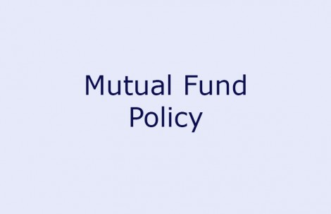 Mutual Fund Policy