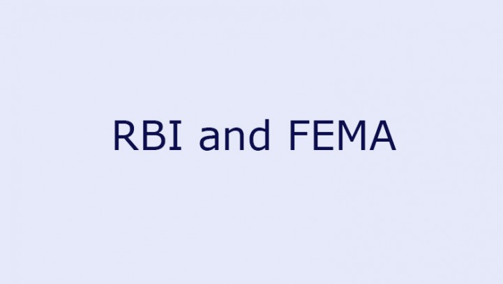 RBI and FEMA