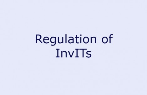 Regulation of InvITs