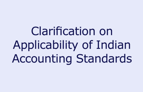 Clarification on Applicability of Indian Accounting Standards