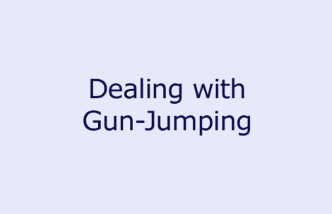Dealing with Gun-Jumping