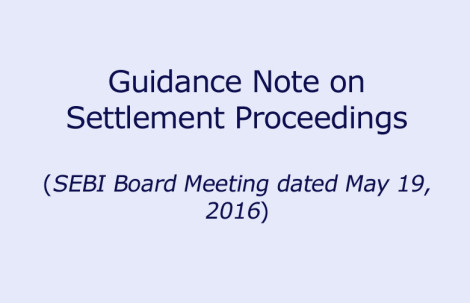 Guidance Note on Settlement Proceedings