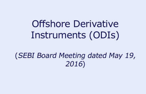 Offshore Derivative Instruments (ODIs)