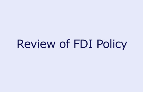 Review of FDI Policy