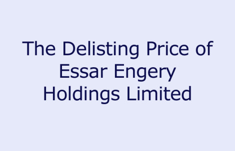 The Delisting Price of Essar Energy Holdings Limited