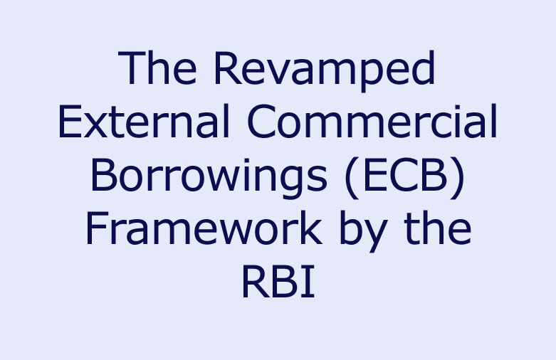 external commercial borrowing policy External commercial borrowings (ecb) refer to commercial loans [in the form of bank loans, buyers' credit, suppliers' credit, securitise instruments the policy for ecb is also applicable to fccbs the issues of fccbs are also required to adhere to the provisions of notification fema no 120/rb-2004.